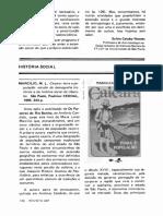 Caiçara Revista USP Marcilio