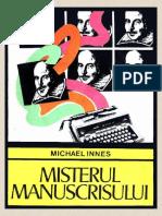 Michael Innes - Misterul manuscrisului #1.0~5.docx