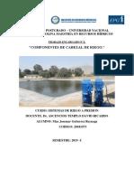 Informe de Cabezal de Riego