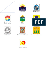Escudos de Los Municipios de q.roo