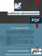 Auditoria Administrativa Cl 19-03-19