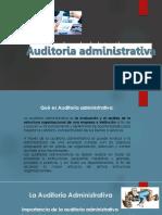 Auditoria Administrativa Cl 19-03-19