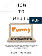 How to Write Funny [Kindle Edition]