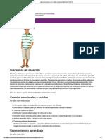 Adolescentes Jóvenes (12 a 14 Años) _ Desarrollo Infantil _ NCBDDD _ CDC