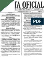 Providencia Nº 11 Gaceta Oficial 39.779 de Fecha 17-10-2011 Postulaciones