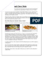 Chinese Food Reading Comprehension Exercises Warmers Coolers