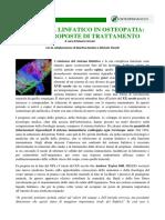 Sistema Linfatico Osteonews