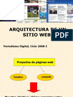 Arquitectura de Un Sitio Web