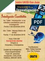 Cursos de Investigacion 2018 6-11