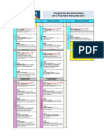 UPF Doctoriales2019 Programme