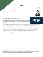 Biografia de Ludwig Wittgenstein - EBiografia