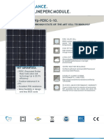 360W PV Panel Catalogue