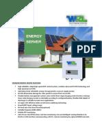Energy Server(500W 3000W) WRL Thunder
