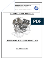 Thermal Lab Manual - 2018-2019 - Even Sem (1)