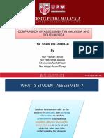 Assessment in South Korea
