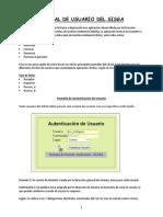 Manual de Usuario Del Sisga v.2.0