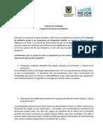 Informede CertificadosColdeportes