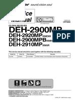 PIONEER DEH-2900MP, 2920MP, 2900MPB, 2910MP.pdf