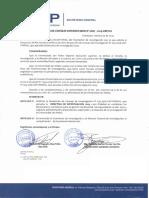 Directiva Investigacion 2019