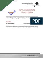 A Data Organisasi Perusahaan