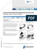 Informacion Cables Iveco Dayli