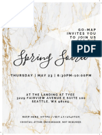 Final Spring Soiree Flyer