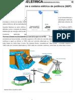 Um Pouco Mais Sobre o Sistema Elétrico de Potência (SEP)