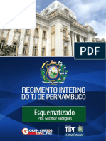 Regimento Interno do TJPE Esquematizado