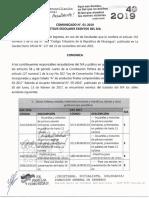 Comunicado 001-2019 Utiles Escolares Exento IVA