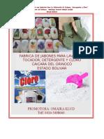 Proyecto Fabrica de Jabones Detergente y Cloro2