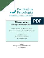 Alteraciones. Una Exploracion Sobre Cancer Tfg Rodrigo Villalba