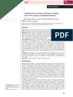 Artículo Costo Efectividad Esclerosis Enero 2019Cost-effectiveness of interferon therapy for multiple sclerosis in Peru