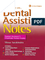 Dental Assisting Notes - Dental Assistant's Chairside Pocket Guide, 1E (2015) [PDF][UnitedVRG].pdf