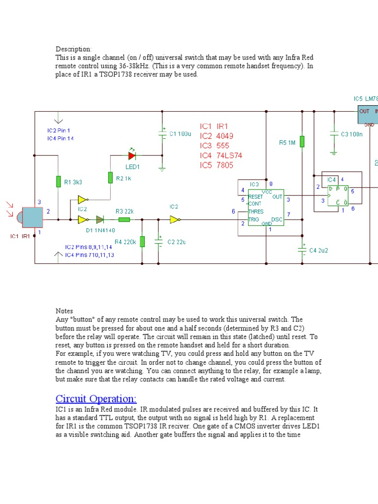 Irs Witch Infrared Electronic Circuits Schematic Of One Ttl Inverter This Is Commonly Called A