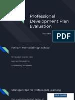 professional development plan - presentation