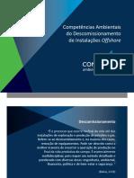 Descomissionamento - Competências Ambientais do Descomissionamento de Instalações Offshore