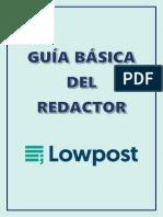 Guia de redacción Lowpost