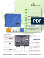 Thinkpower on Grid Inverter 6.0kW Datasheet