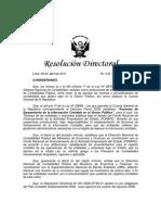 r.d. 012-2011-Ef Aprueba Lineamientos Basicos Proceso de Saneamiento Contable