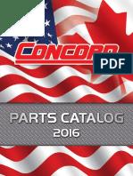 Concord Parts Catalog 2016