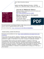 Prices and Money in Medieval Venice
