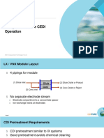System Design for Reliable CEDI Operation