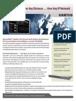 Kratos SpectralNet Data Sheet