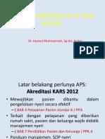 Pengorganisasian Acut Pain Service