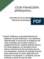 PLANEACION FINANCIERA EMPRESARIAL