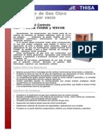 Dosificador de Gas Cloro Accionado Por Vacío 8000 PPD