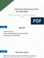 Marco de Clasificación de Processos de UNICOMER.pptx