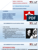 Exposicion 1er Gobierno de Alan Garcia