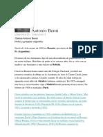 Antonio Berni-Vida y Obra