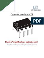 Compte Rendu Du TP Electronique